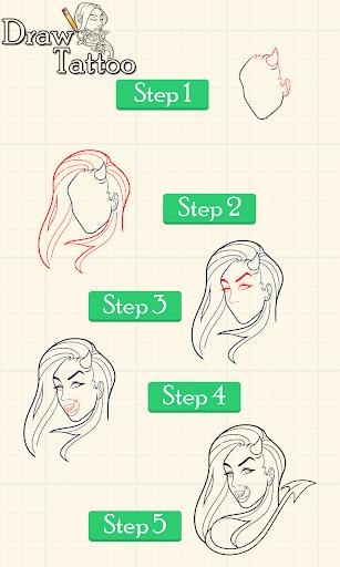 タトゥーを描画する方法