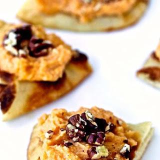 Whipped Sweet Potato and Ricotta Naan Crostini Recipe