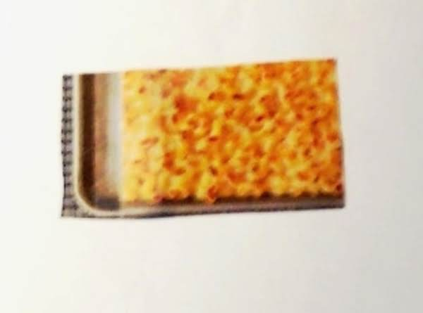 Macaroni & Cheese   (creamy With A Crunch)). .baked On A Baking Sheet Recipe