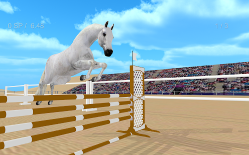 Jumpy Horse Show Jumping- screenshot thumbnail