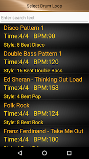 Drum Loops & Metronome Free- screenshot thumbnail