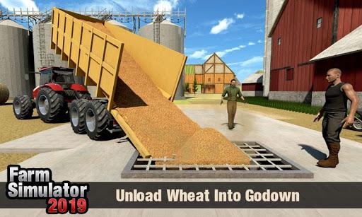 Real Tractor Driver Farm Simulator -Tractor Games 1.2 screenshots 4
