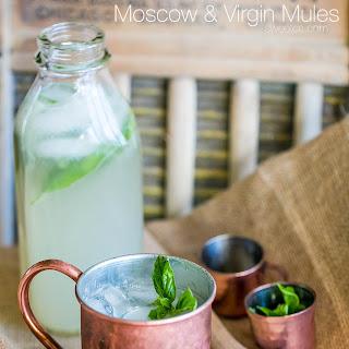 Basil Lemonade Moscow Mule Recipe