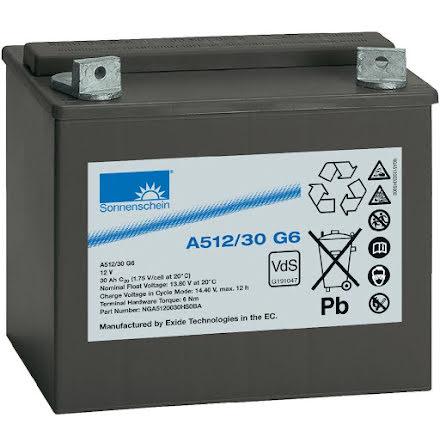 Gelbatteri 12V 40Ah Sonnenschein A512/40 G6.