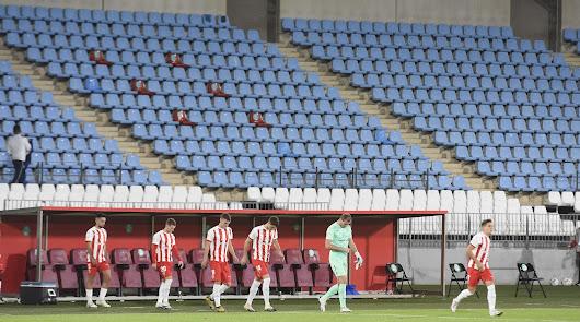 El Estadio Mediterráneo supera ya los siete meses sin aficionados