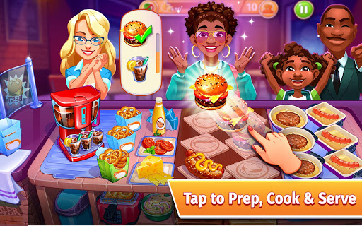 Cooking Craze: The Ultimate Restaurant Game android2mod screenshots 16