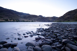 Photo: Scenic image of Hell's Canyon of the Snake River, ID / OR. Hell's Canyon is the deepest canyon in North America.