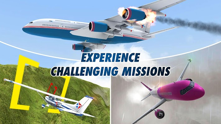 Take Off The Flight Simulator - imagem de tela