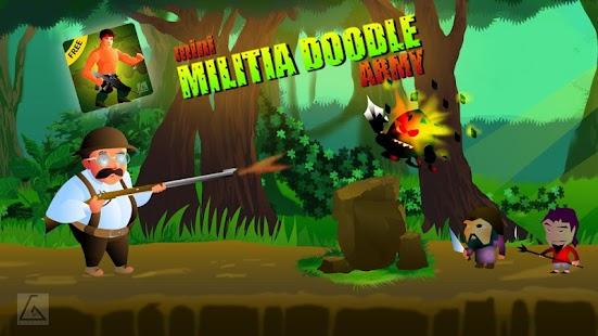 Mini Militia Doodle Army - náhled