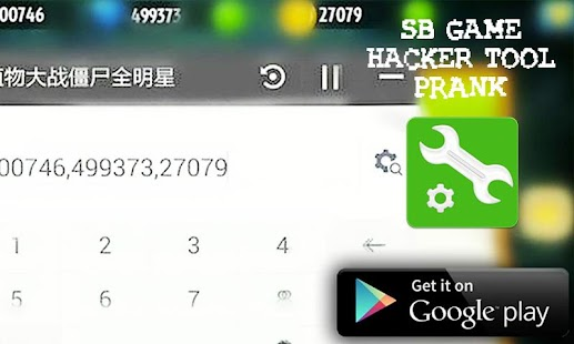 App SB Game Hacker Tool Pro Prank APK for Windows Phone