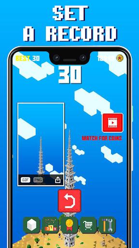 Craft Tower -  Stacking Blocks Building Tower Game 1.06 screenshots 2