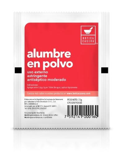 Alumbre Polvo 25G Fine Chemicals ALUMBRE POLVO X 25 G