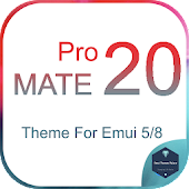 Mate 20 Pro Theme for All Emui Icon