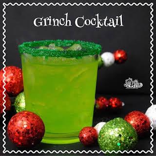 Grinch Cocktail.