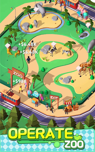 Idle Animals Kingdom - Wonder Zoo Tycoon 1.0.9 screenshots 1