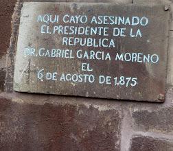 Photo: Memorial plaque, Grand Plaza