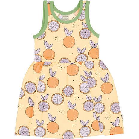 Maxomorra Dress Spin NS Citrus Sun