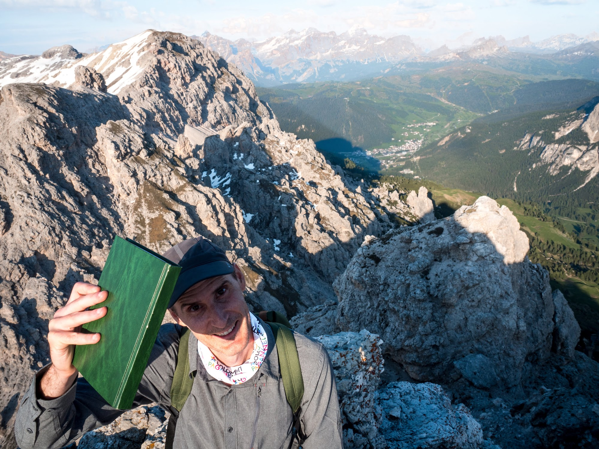 The Summit - don't forget to sign the green summit logbook.