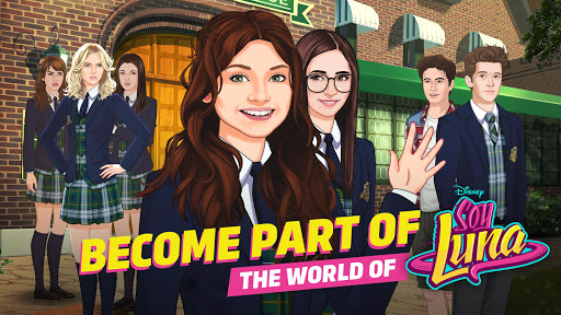 Soy Luna - Your Story game (apk) free download for Android/PC/Windows screenshot