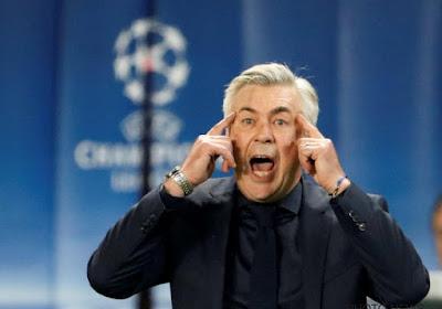 """Ancelotti a toujours un oeil sur le PSG: """"Cela arrive de perdre..."""""""