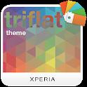 XPERIA™ Triflat Theme icon