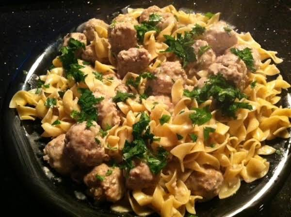 Almost Famous Swedish Meatballs Recipe