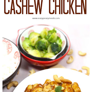 Super Simple Cashew Chicken