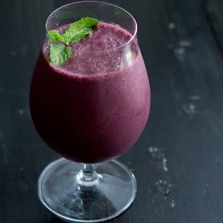 Berry Mojito Smoothie.