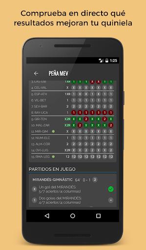 comprar baratas siempre popular rendimiento superior Quiniela - Aplicaciones en Google Play