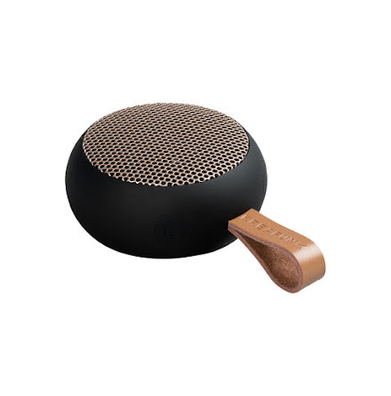aGO, black w. rose gold grill, Mini Bluetooth-högtalare