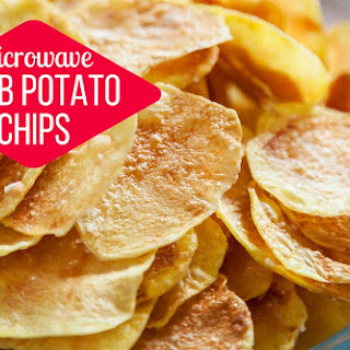 Microwave Herb Potato Chips.