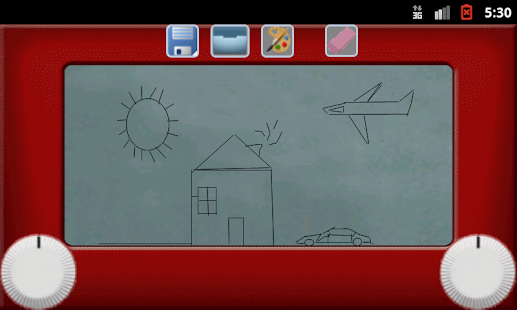 Etch A Sketch Pad Color- screenshot thumbnail