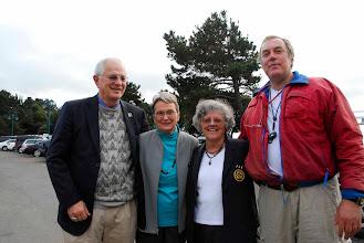 Photo: Mayor Tom Bates, Assemblywoman Loni Hancock, BYC Commodore Betty Gray, Peter Hayes