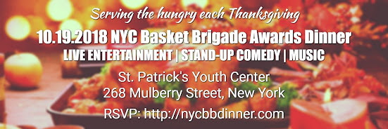 NYC Basket Brigade - Awards Dinner