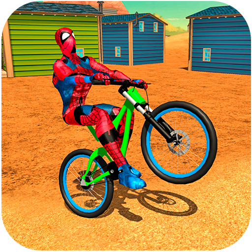 Super Spider Hero BMX Bicycle Stunts file APK for Gaming PC/PS3/PS4 Smart TV