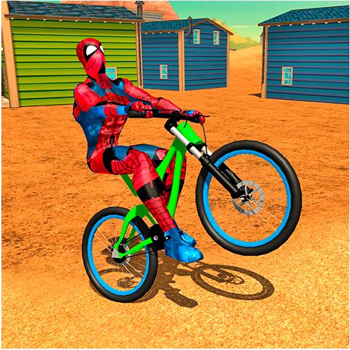 Super Spider Hero on Crazy wheels