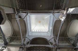 Photo: Interior de la iglesia de madera en Kerimaki