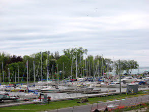 Photo: A closer view of a typical harbor