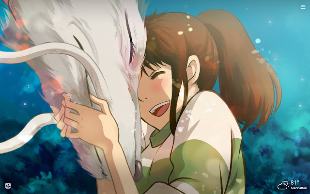 Spirited Away HD Wallpapers New Tab