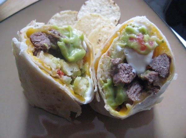 Mini California-style Carne Asada And Potato Burritos Recipe