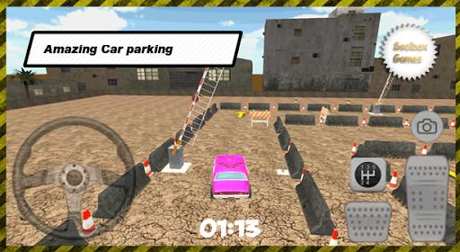 玩免費模擬APP|下載3D City Pink Car Parking app不用錢|硬是要APP
