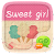 (FREE) GO SMS SWEET GIRL THEME file APK Free for PC, smart TV Download