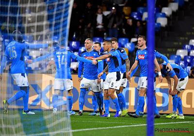 Serie A : Napoli annonce sa reprise des entrainements !
