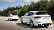 Porsche, the German brand, led the pack with 109 vehicles sold in June. Pictured: Cayenne (foreground) and its Coupe cousin.
