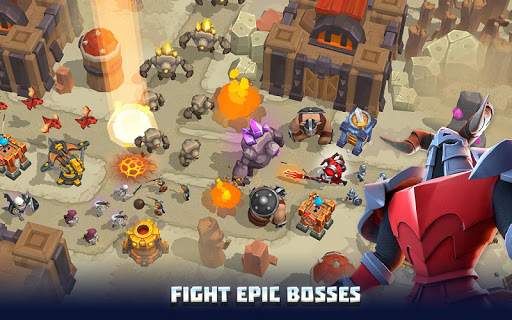 Wild Sky Tower Defense: Epic TD Legends in Kingdom apkmr screenshots 4