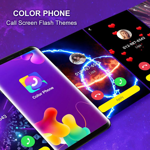 Color Phone - Call Screen Flash Themes 1.7.4 gameplay | AndroidFC 1