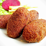 Garden Vegetable Fritters (4 Pieces)