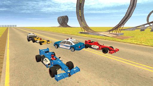 Formula Car Racing u2013 Police Chase Game 1.19 screenshots 5