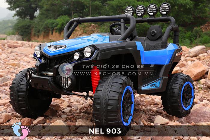 Xe ô tô điện địa hình NEL-903 4 động cơ 9