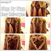 Step By Step Easy Hairstyles